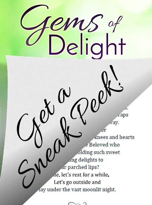 Gems of Delight sneak peek!