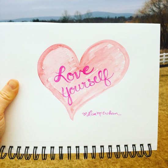 Love starts with three words