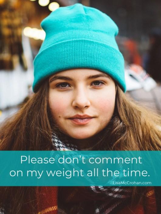 promoting positive body image in tweens and teens
