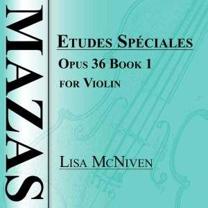 Mazas Etudes Speciales Opus 36 Book 1 for Violin, audio CD MP3 recording