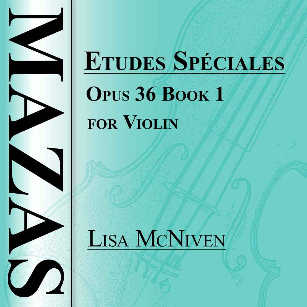 Mazas Etudes Speciales Opus 36 Book 1 for Violin, audio CD MP3 recording