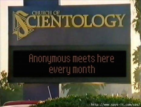 Scientology sign