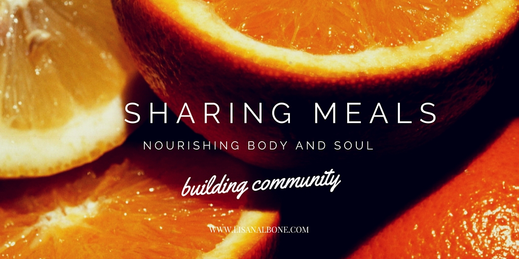 Sharing Meals, Building Community