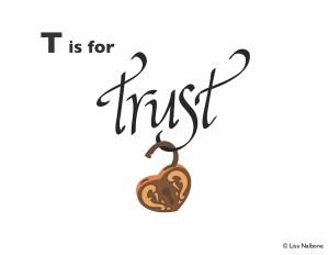 T is for trust slide, www.lisanalbone.com