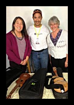 Dave Iriguchi, Suzie Lee and Lisa Nalbone LisaNalbone.com