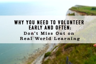 Reasons to volunteer at www.LisaNalbone.com