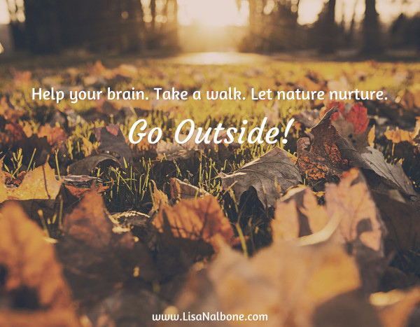 Go outside at www.LisaNalbone.com