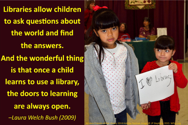 Libraries allow children to ask ustions wfol.org