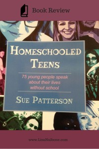 Book Review of Homeschooled Teens at Lisa Nalbone.com
