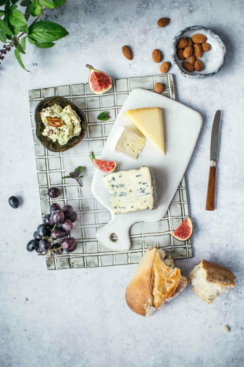 Käseplatte Food Fotografie Lisa Nieschlag