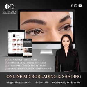 Microblading online trading om design academy