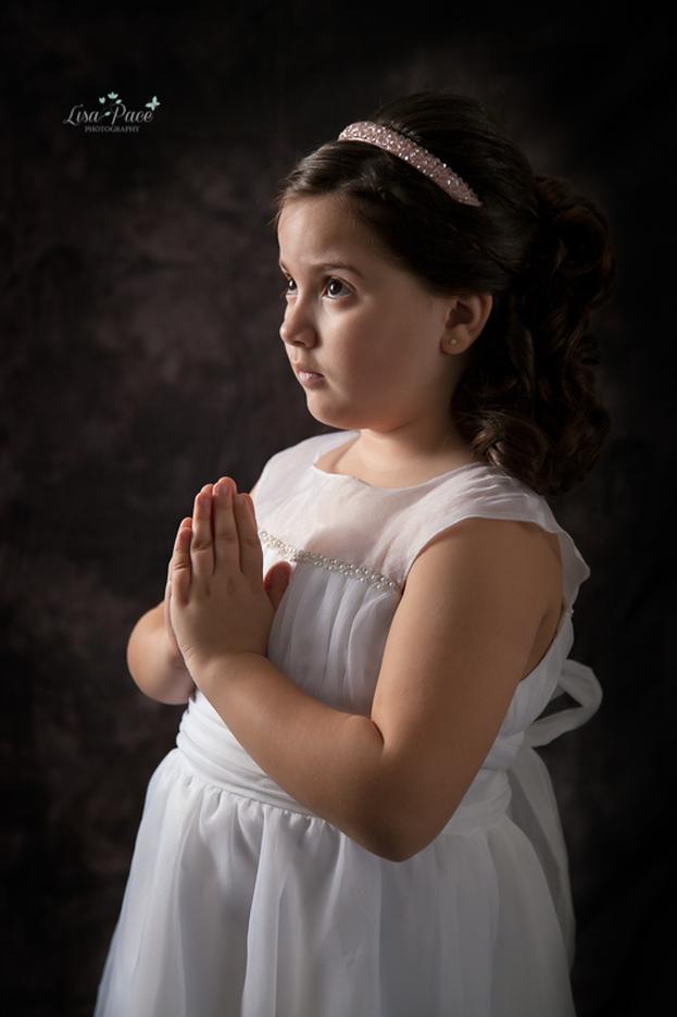 First Communion Photography | Woodbridge Family Photographer