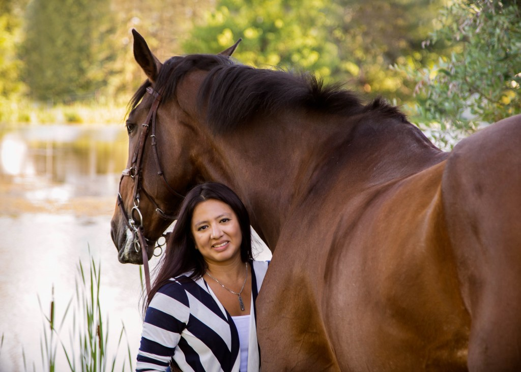 Ballagh & Maria | Stouffeville Equine Portrait Session