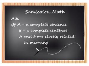 Semicolon Math