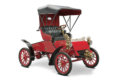 The First Ford Model A