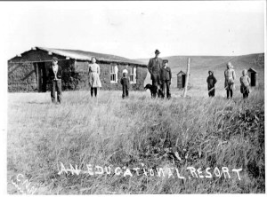 Sod School, Winner, South Dakota. Photo: Library of Congress, Fred Hultstrand History in Pictures Collection, NDIRS-NDSU, Fargo.
