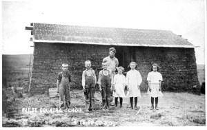 First School in Tripp County, South Dakota. Photo: Library of Congress, Fred Hultstrand History in Pictures Collection, NDIRS-NDSU, Fargo.