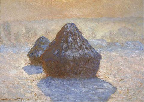 800px-Claude_Monet_-_Haystacks-_Snow_Effect_-_Google_Art_Project