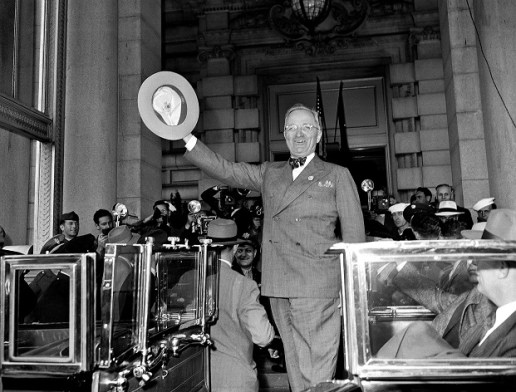 President Truman's arrival in San Francisco, April 1945, photo #200663 copyright United Nations