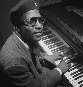 Thelonius Monk (William P. Gottlieb Collection, Library of Congress, public domain photo)