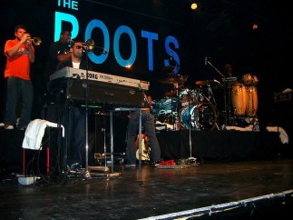 The Roots at the Kool Haus nightclub in Toronto, Canada. Photo by Aaron_M. CC BY 2.0