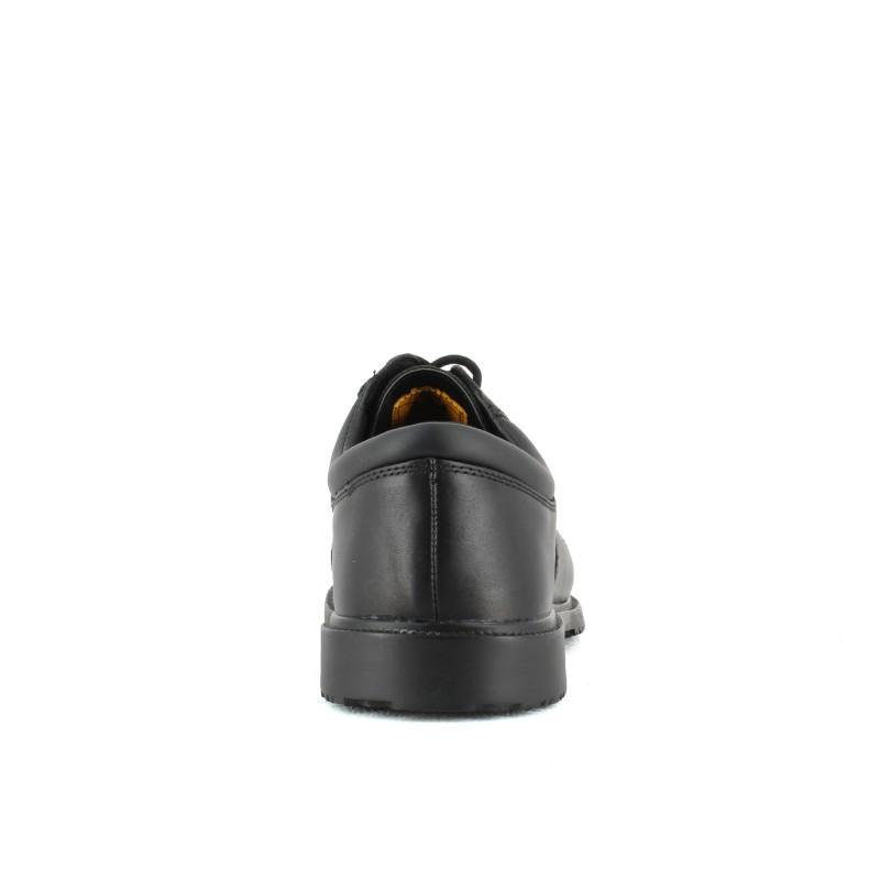 chaussure de securite de ville en cuir