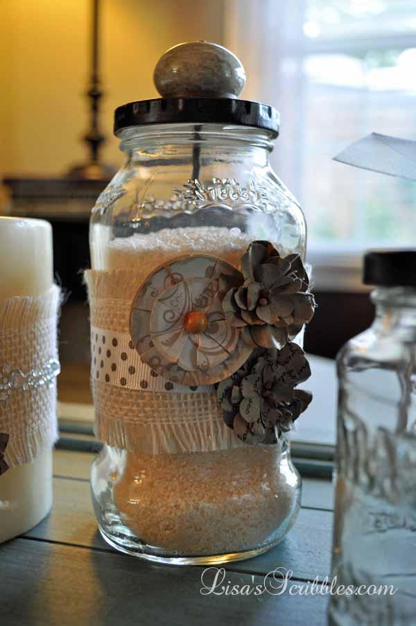 Glass Jar Upcycing031