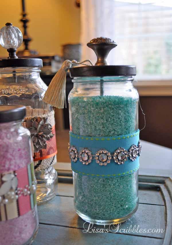 Glass Jar Upcycing038