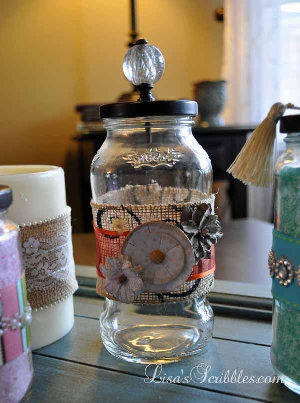 Glass Jar Upcycing039