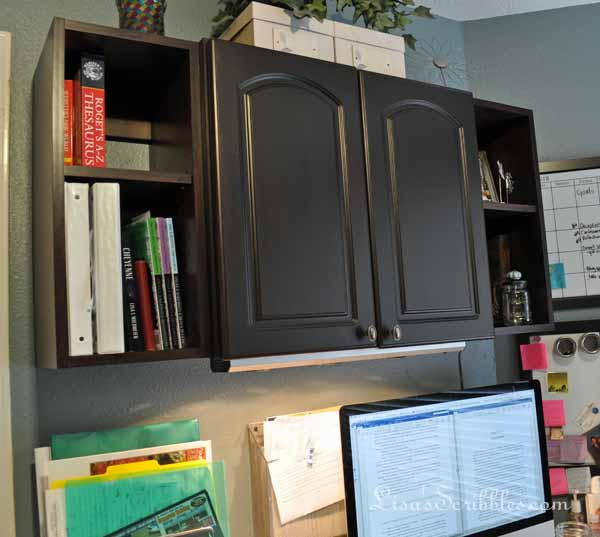 Cute Gel Stained Cabinets