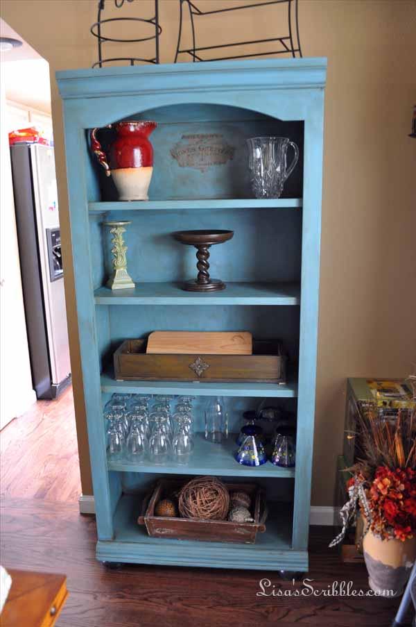 Cabinet and bookshelf010