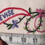 stitches close-up