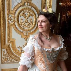 Versailles 2016 dressed for a court ball