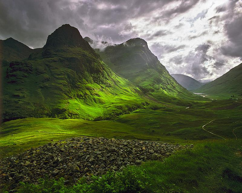 Clearing Storm, Glencoe, Scotland