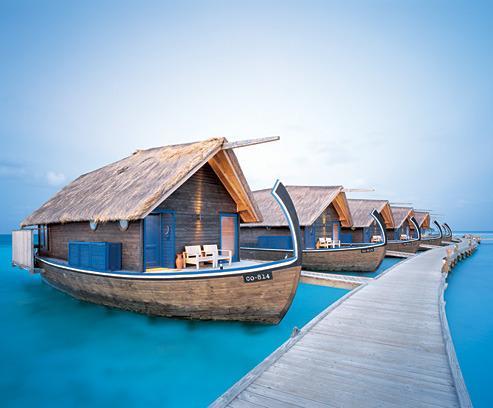 Boat Hotel, Cocoa Island, The Maldives Islands