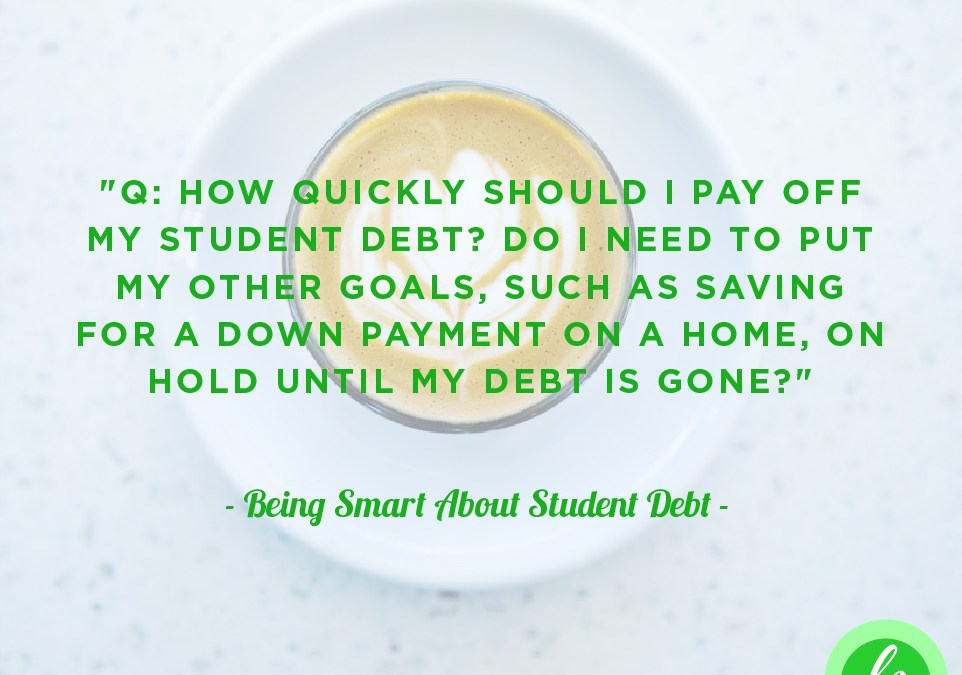 Being Smart About … Student Debt