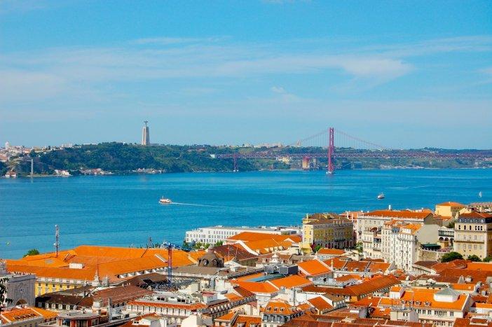 View from the Castelo de São Jorge