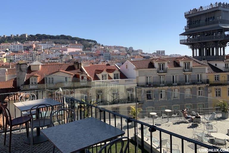Terraços do Carmo, Lisboa