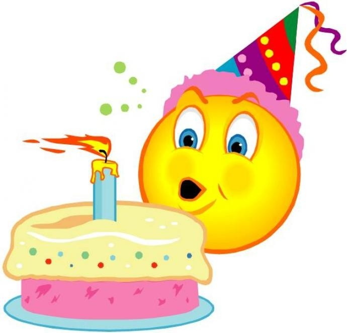 Birthday Smiley Faces Clip Art Examples And Forms
