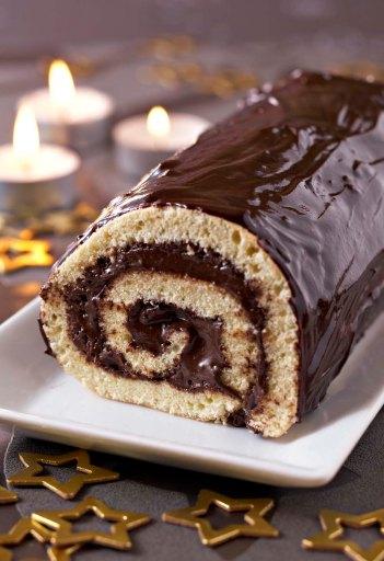 Gâteaux de Noël_ Le bûche