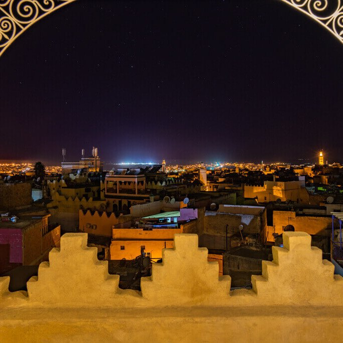 meknes-view-by-night