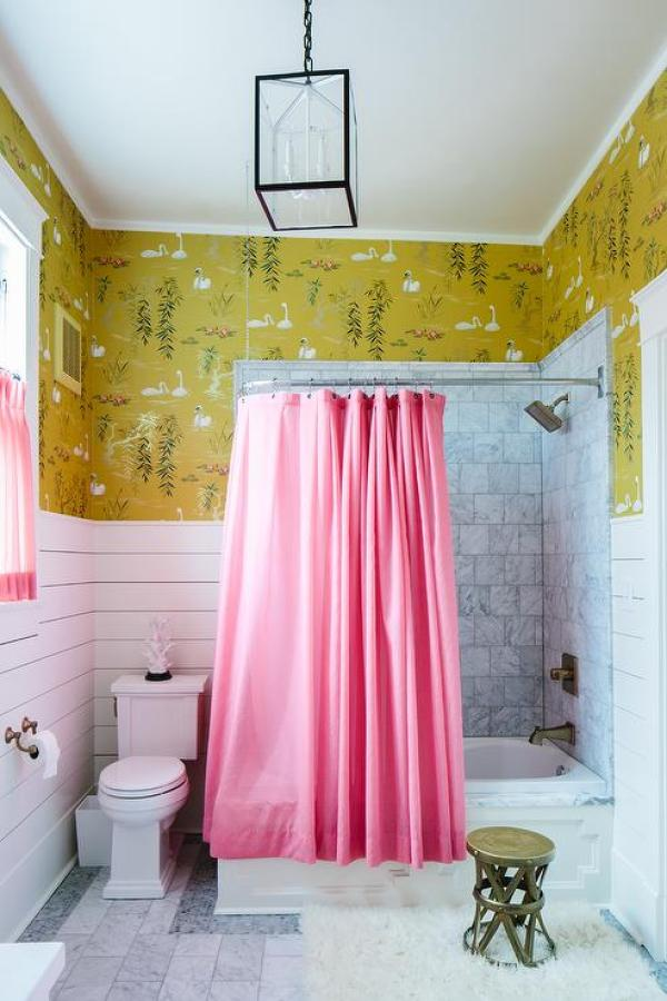decor pad pink bathroom