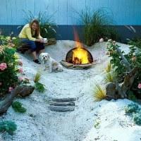 My dream garden beach hut