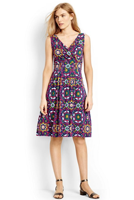 lands end pattern dress