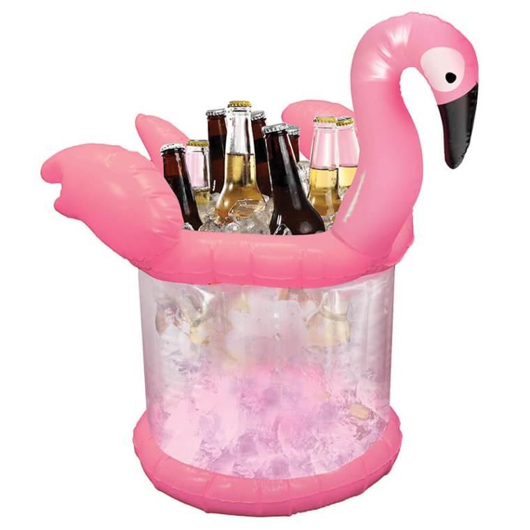 flamingo ice bucket