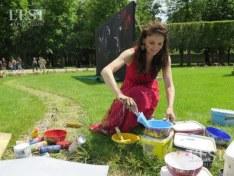 LiSKa LLoRCa prépare ses couleurs
