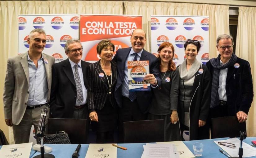 Regionali Marzo 2018 – A Latina con la testa e con il cuore