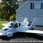 Transition: tiene unas alas desplegables de 8 metros de envergadura y una hélice trasera