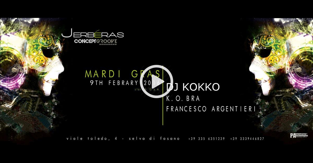 09.02 Mardi Gras: il Carnevale Concept Groove (FREE ENTRY) @Jerbéras Club
