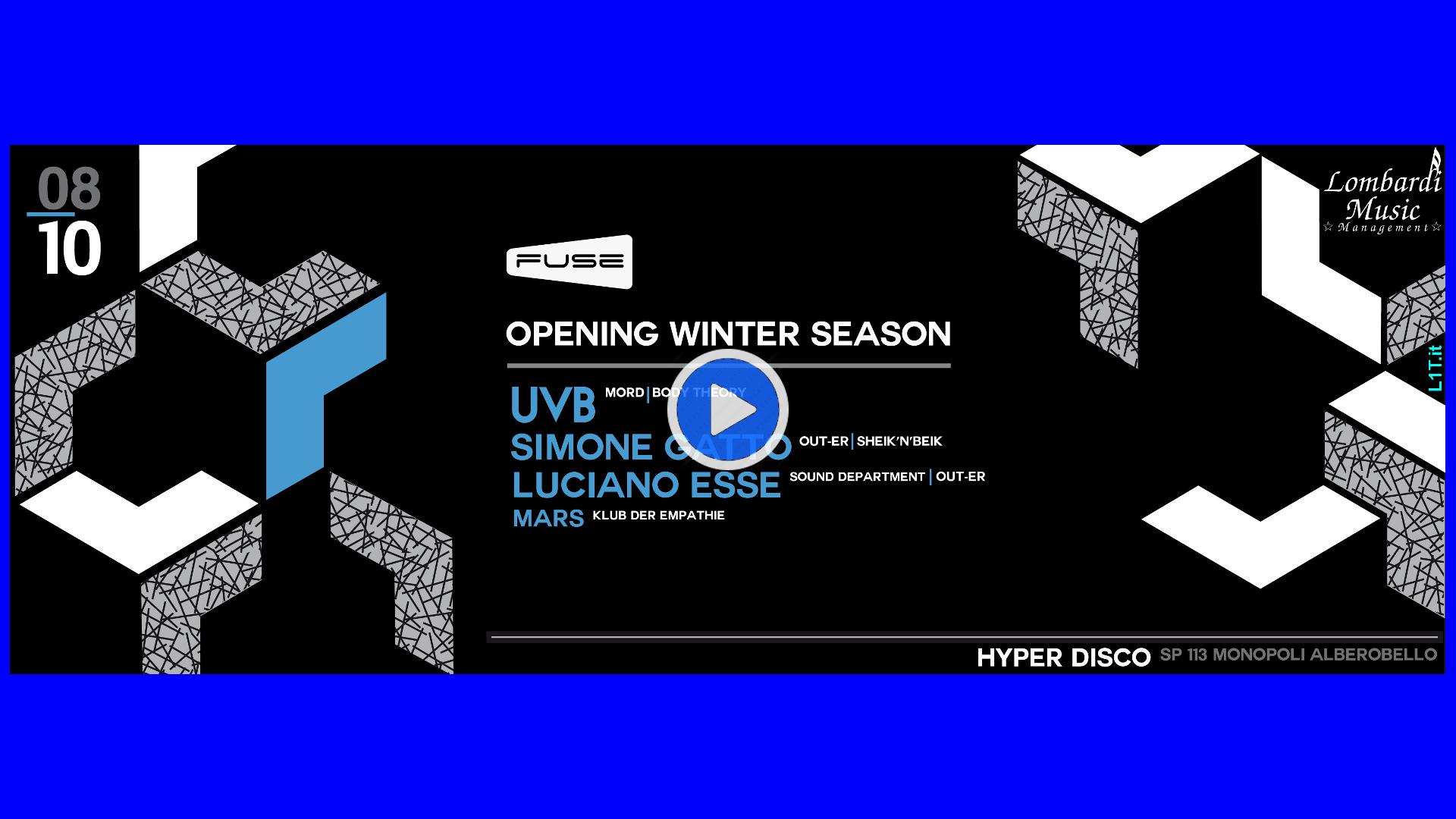 FUSE Opening Winter UVB Hyper Banner